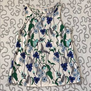 Anthropologie Meadow Rue Embroidered Floral Tank